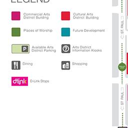 Bike Rack 4 | Saint Paul Place | Dallas Arts District