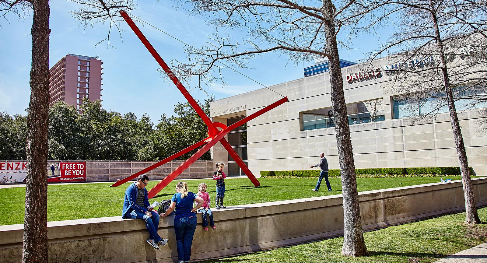 Dallas Arts District Visual Arts Dallas Museum of Art