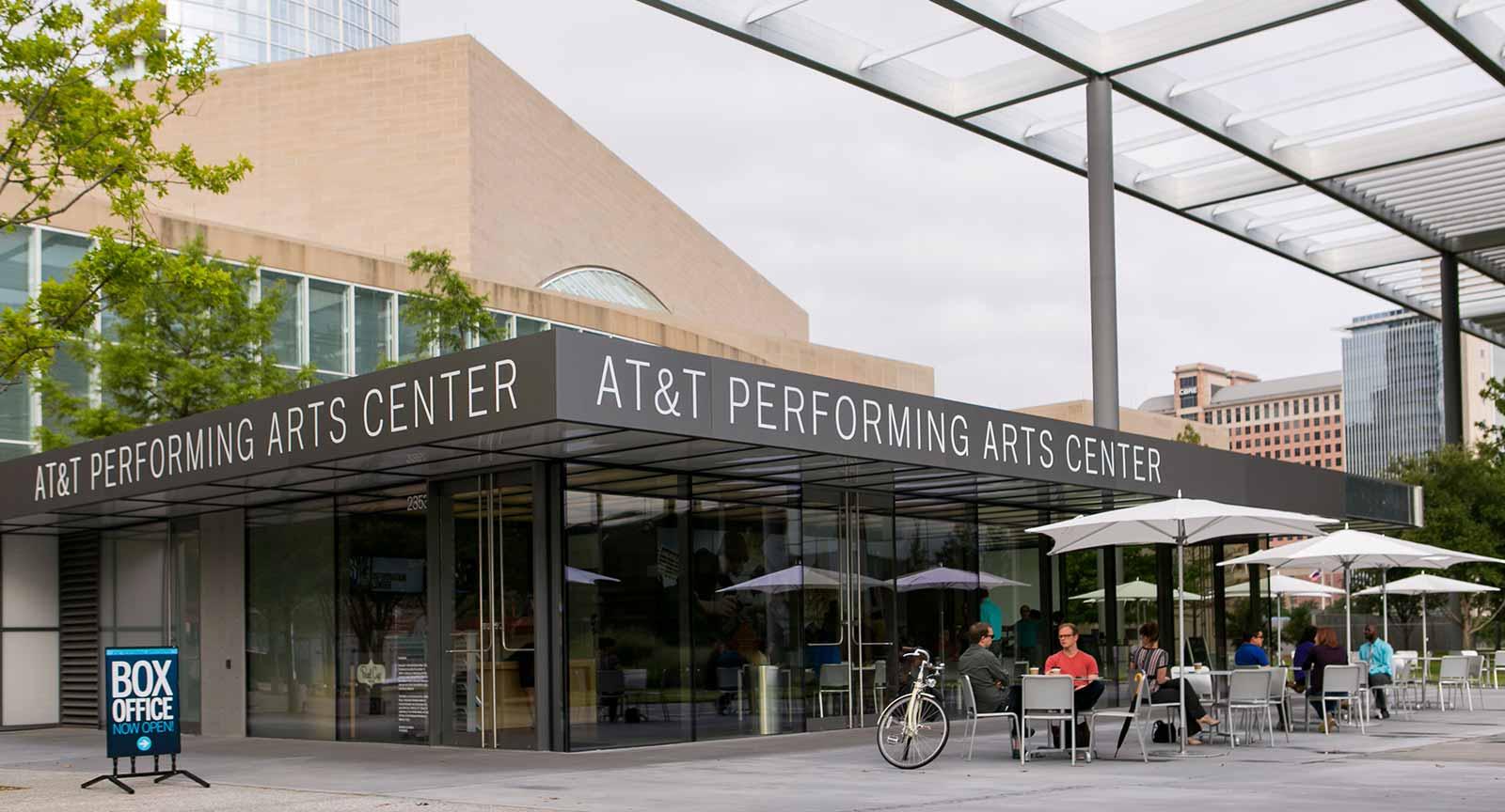 Dallas Arts District ATT Performing Arts Center Carter Rose