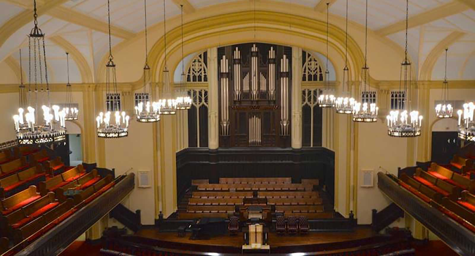 Dallas Arts District First United Methodist Church Interior