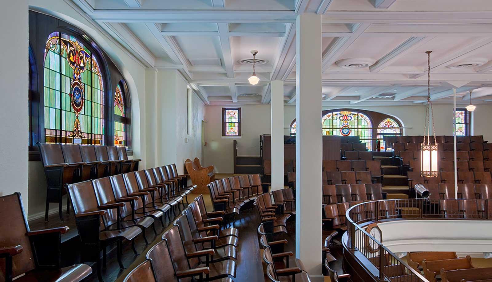 Dallas Arts District St. Paul United Methodist Interior