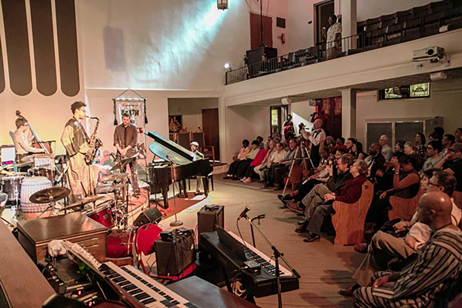 Dallas Arts District St. Paul Jazz Night