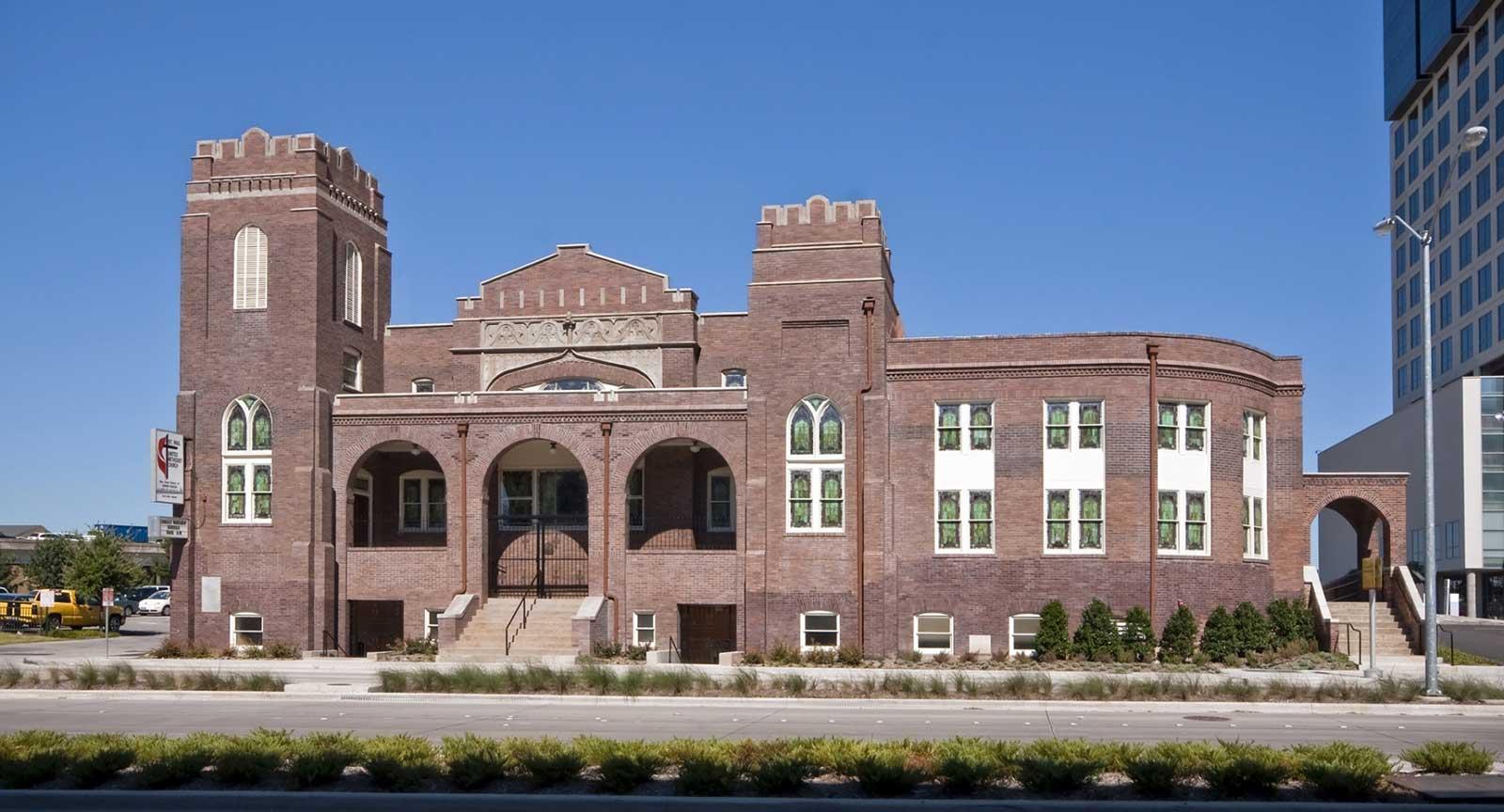Dallas Arts District St. Paul United Methodist Exterior