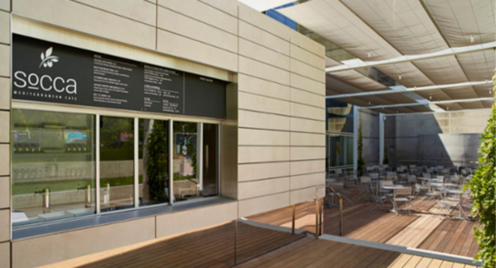 Socca Mediterranean Cafe at the DMA