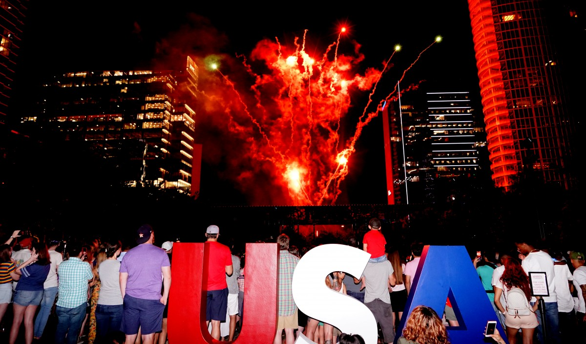 Klyde Warren Park Independence Day Celebration