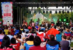 Klyde Warren Park's Memorial Day Music Fest