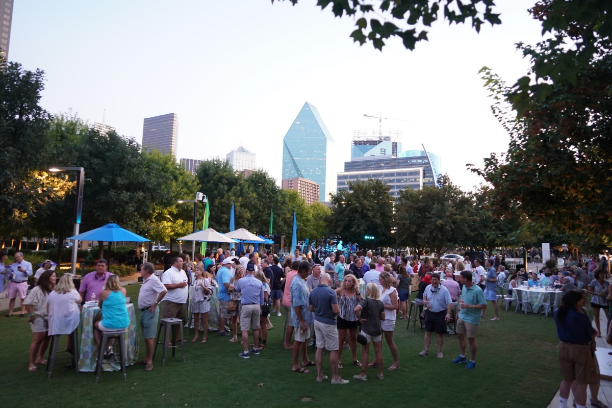 Friends of Klyde Warren Park Membership Party