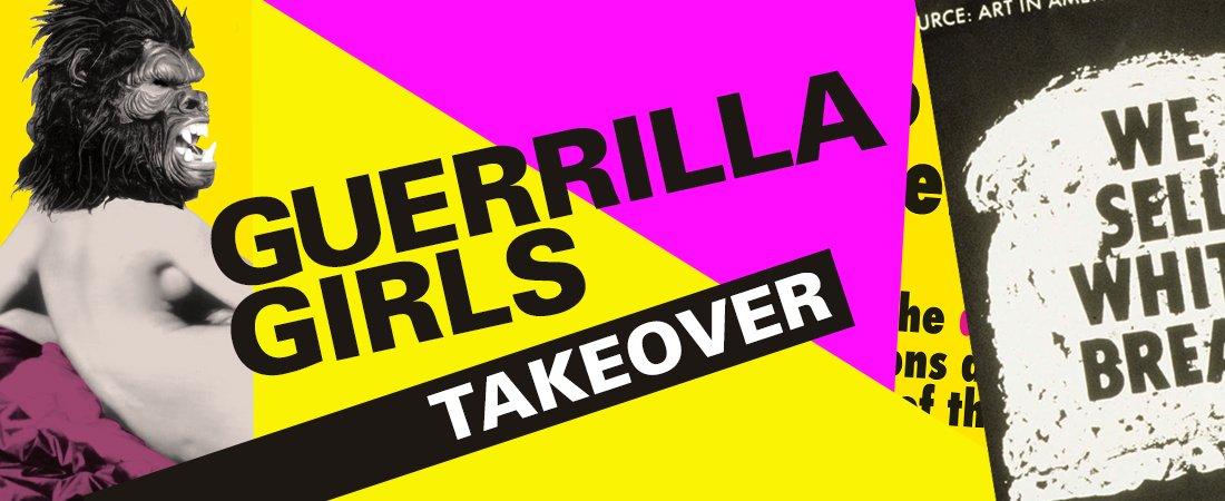 Guerrilla Girls: Takeover – Virtual