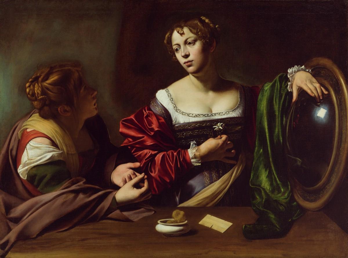 Caravaggio: Martha and Mary Magdalene